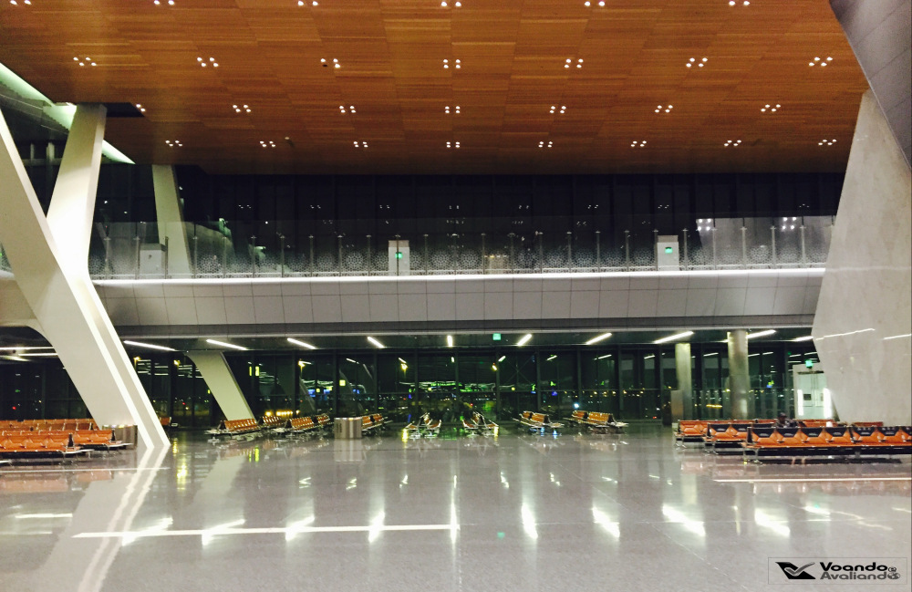 Aeroporto Doha - Saguão