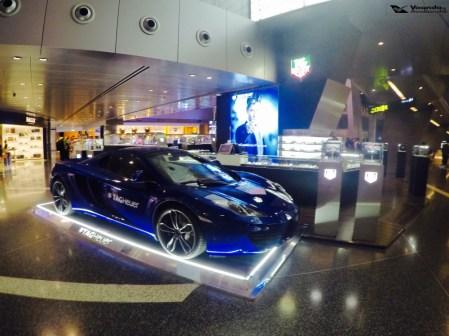 Aeroporto Doha - Carro