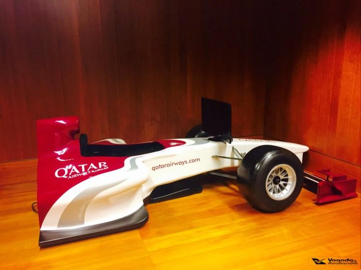 Sala VIP Qatar - Formula1 Simulador