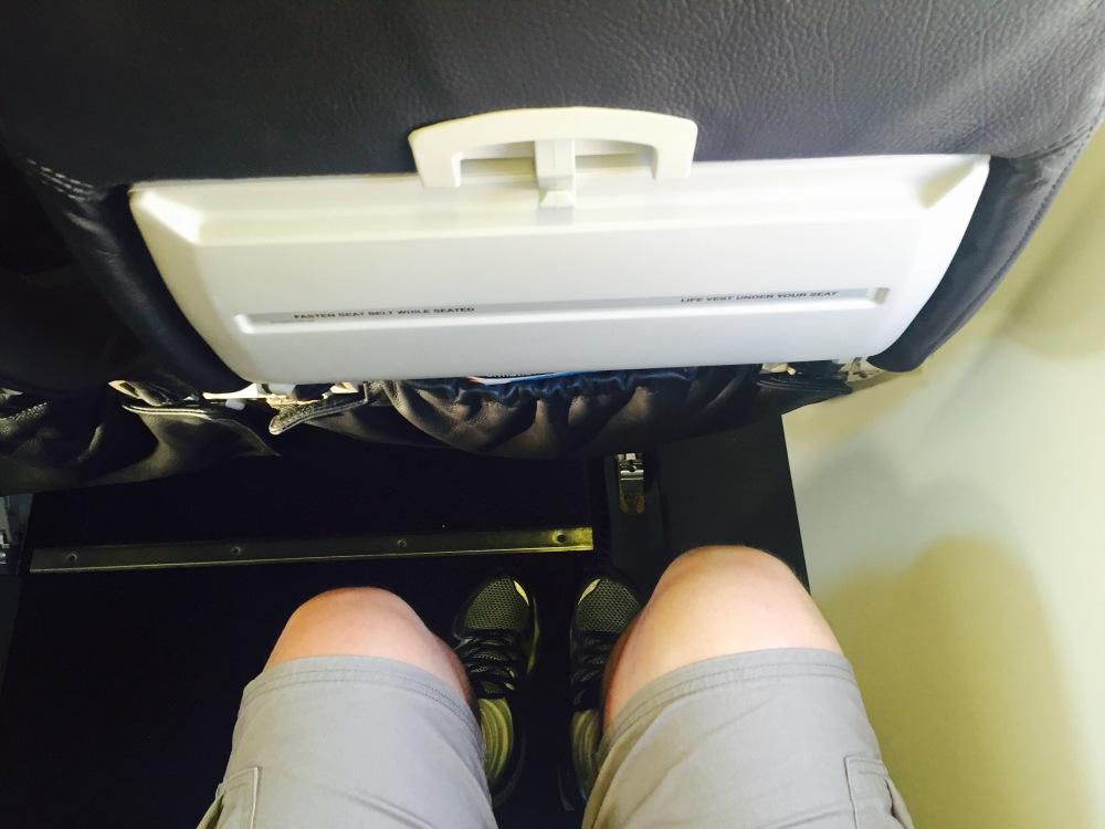 Espaço pernas - Q300 ANZ