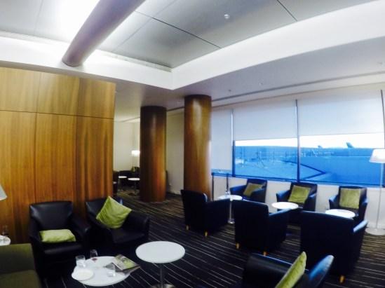Sala VIP - Qantas - Visão Ampla