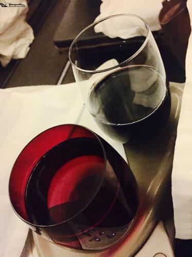 Água e vinho - B777 LATAM