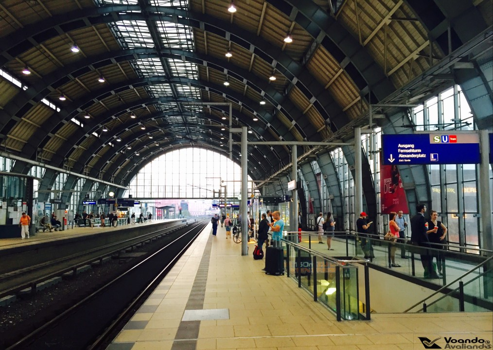 Estação Trem Berlin