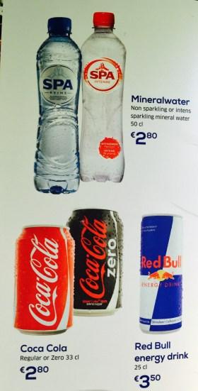Transavia - Água e Coca