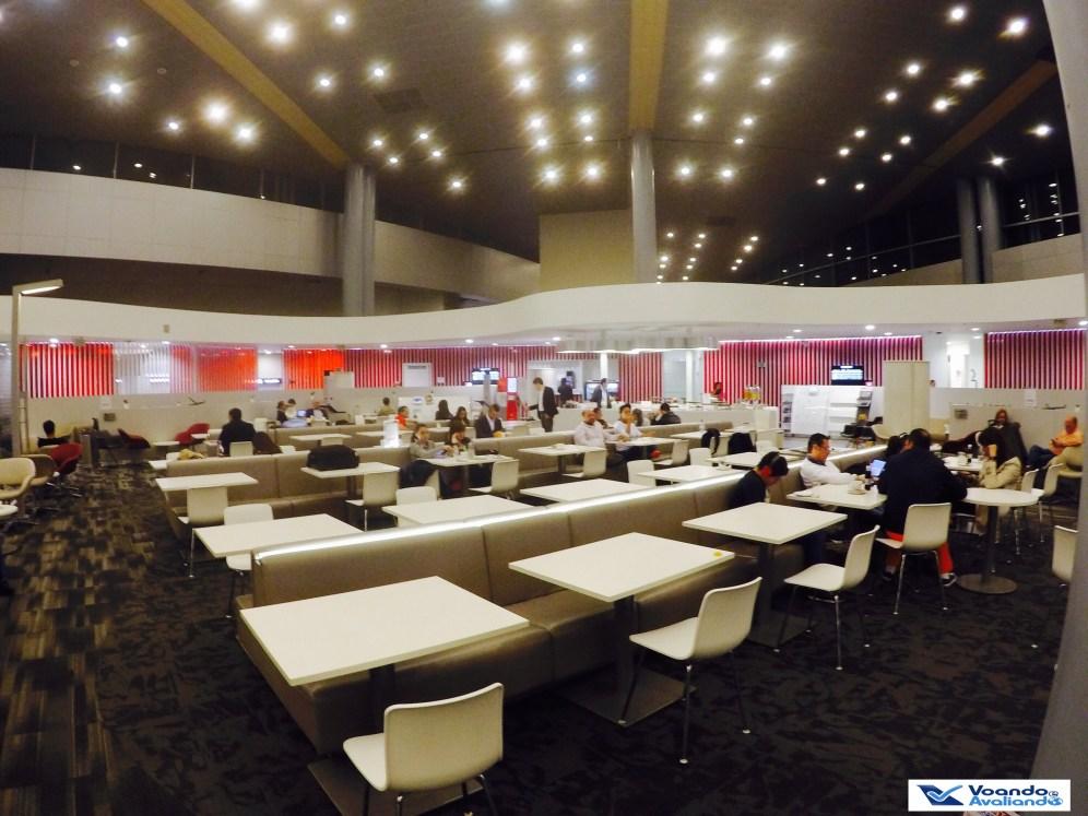 Sala VIP Avianca - Visão Geral 2