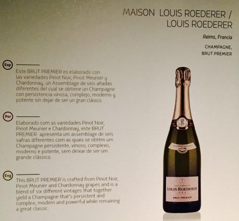 Champagne - LATAM - GRU-BCN