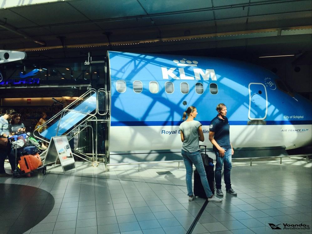 Loja AMS - Cabine KLM