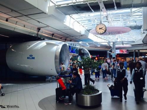 Loja AMS - Turbina KLM