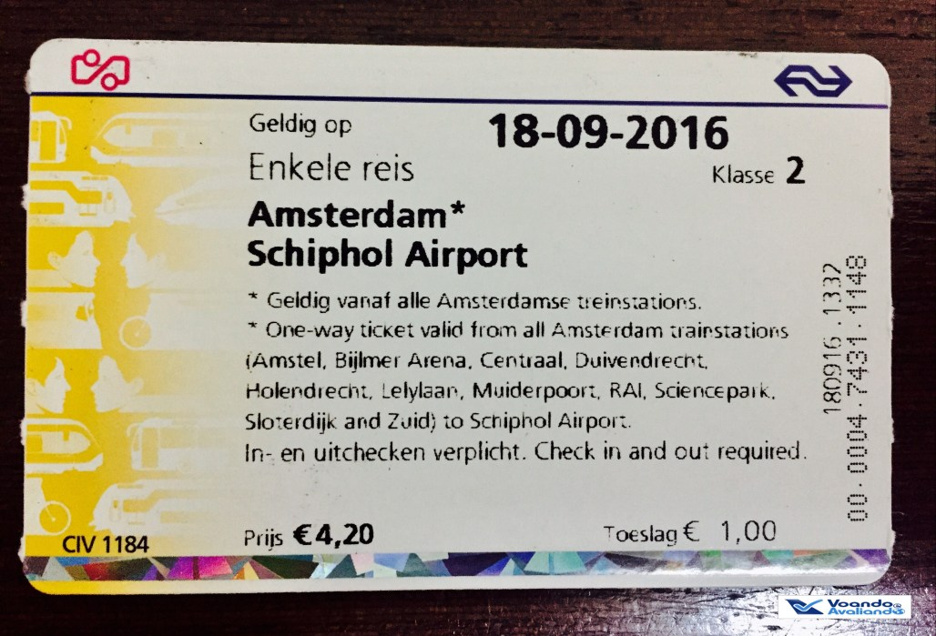 Ticket Metro _ AMS