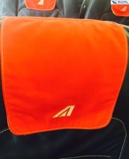 Encosto Banco - A320 - Alitalia