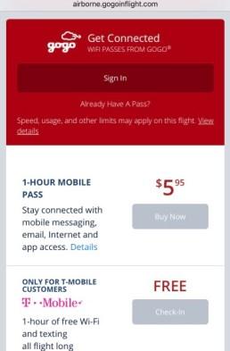 Wifi a bordo - Delta - B767 3