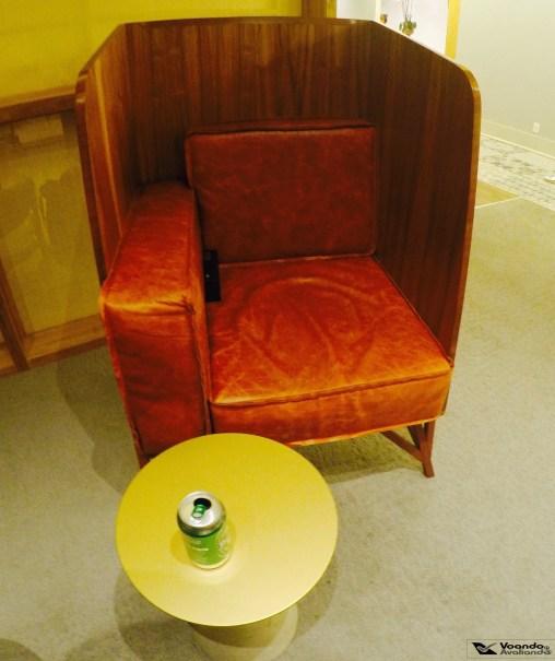 Sala VIP - GOL GRU - Cadeira