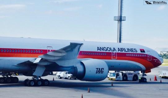 B777 Angola GRU