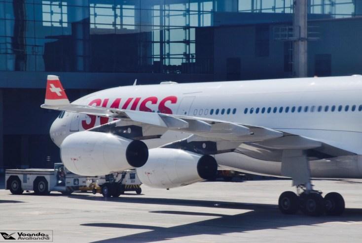 A340 Swiss - GRU
