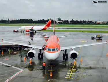Bogotá - Visão Sala VIP - A319 Avianca