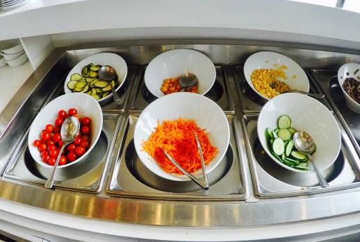 Buffet Saladas - Sala VIP Avianca 2