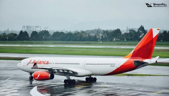 Bogotá - Visão Sala VIP - A330