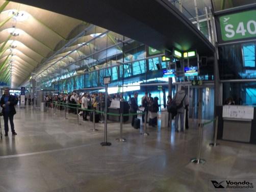 Portão S40 - MADRID