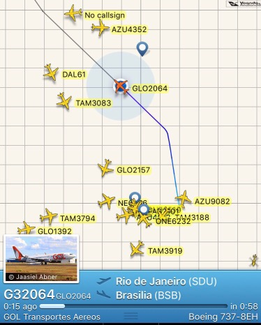 Registro - FlightRadar - Wifi GOL