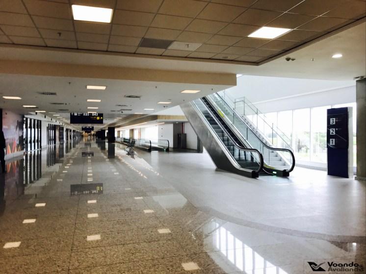 Escada Rolante - Acesso Sala VIP Gol