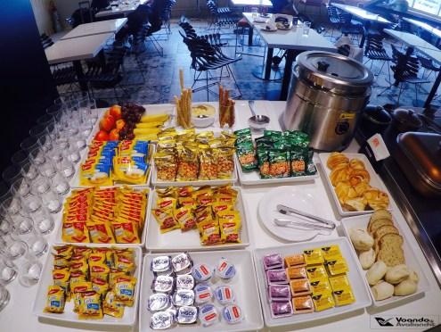 Snacks 3 - Sala VIP GOL GIG