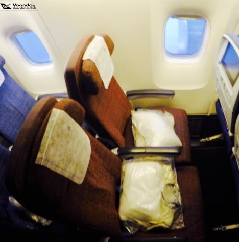 Inside B767 - Econômica - JFK-GRU 4
