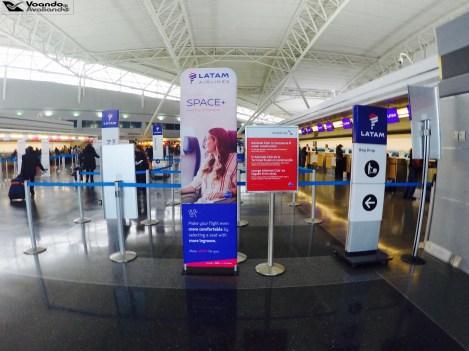 Check-in LATAM - JFK 3