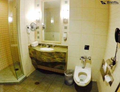 Flagship - Visão geral banheiro