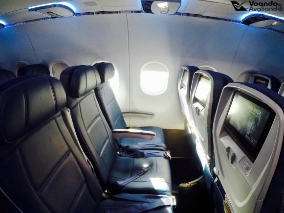 Inside A319 - Delta 9