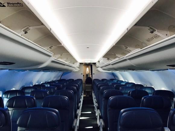 Inside A319 - Delta 8