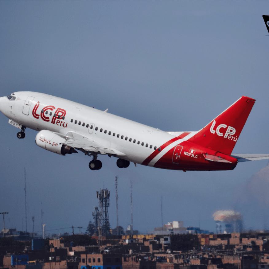 B737-500 - Decolando Lima
