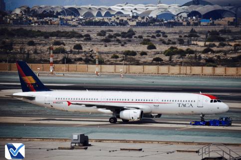 A321 - TACA Pushback