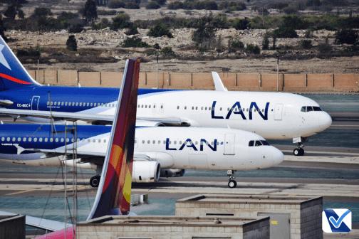 B767 + A320 - LAN