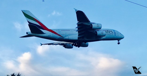 A380 - Pouso em Londres