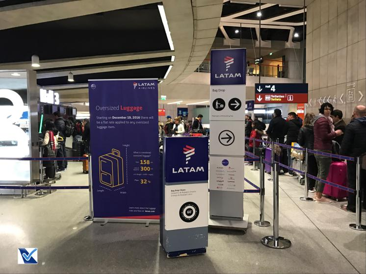CDG - Check-in LATAM