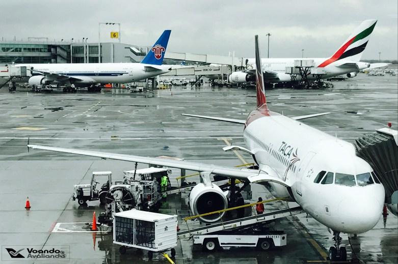 A320 - TACA - JFK