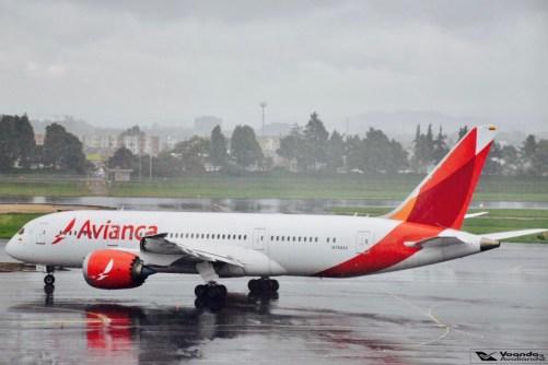 Bogotá - Avianca - Boeing B787 (2)