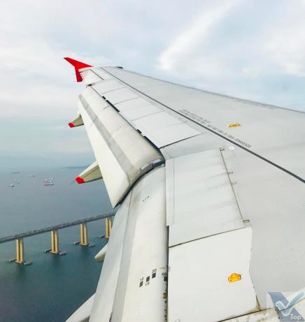 Avianca - A319 - Aproximação SDU 3