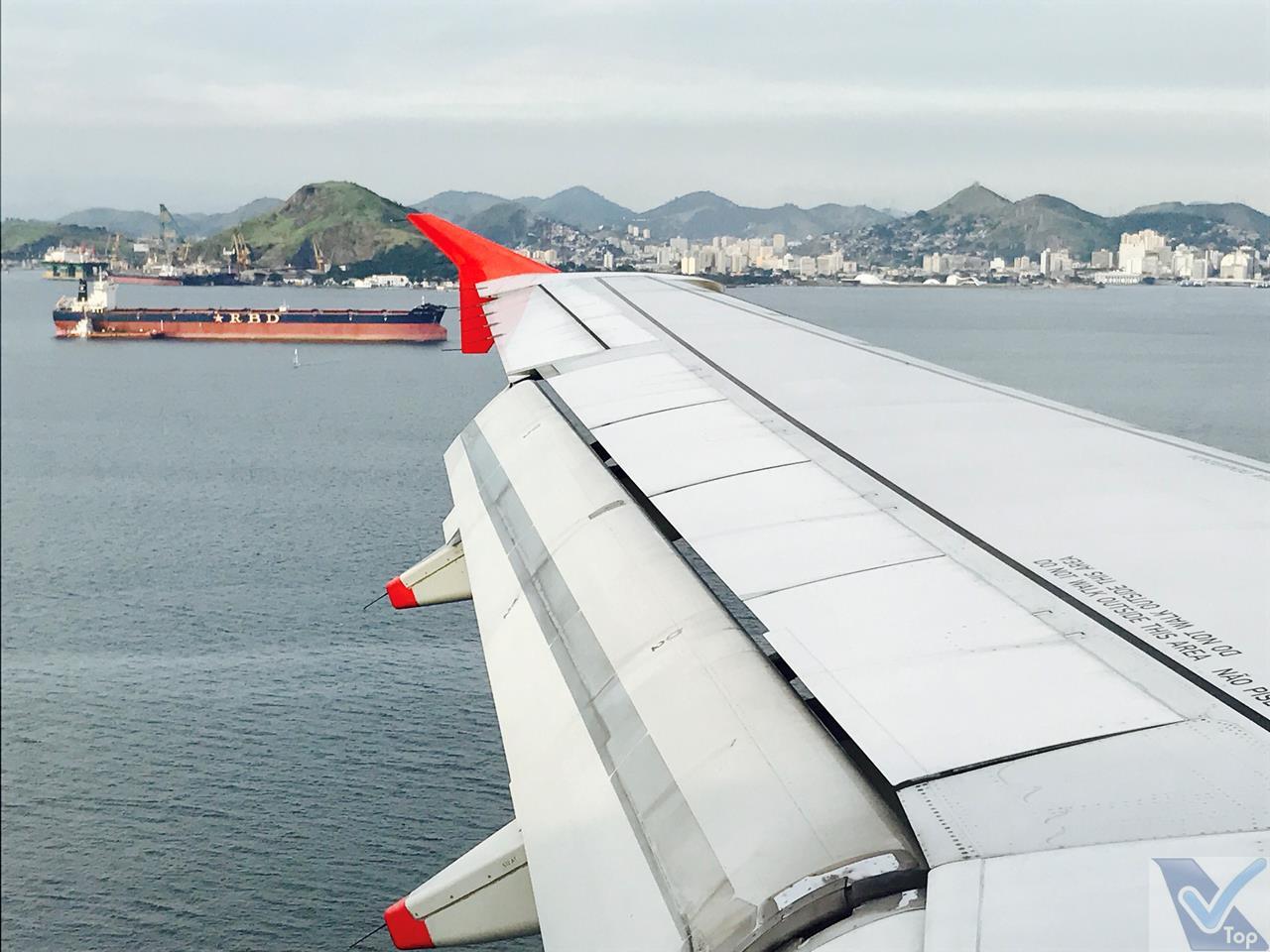 Avianca - A319 - Aproximação SDU 4