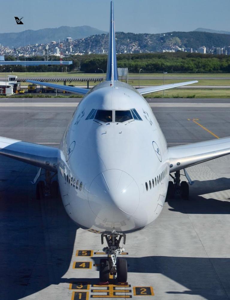 _B747-8 Lufthansa GIG