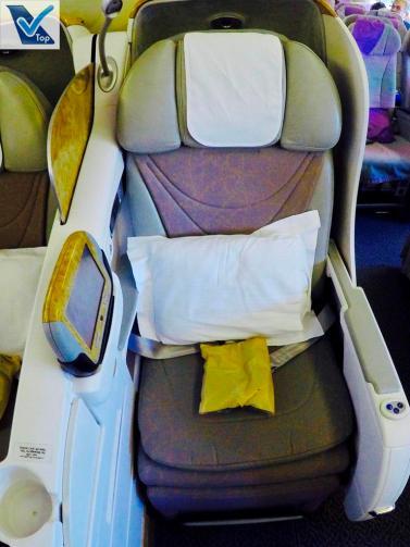 B777 - Emirates - Assento 11D