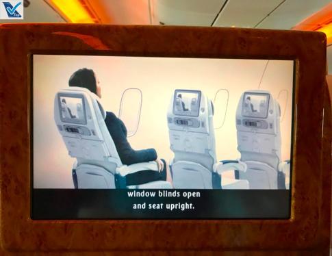 Instruções Emirates 1