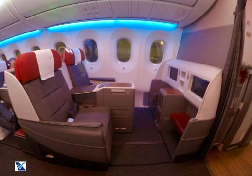Inside - B787 - Business - LATAM - SCL AKL 1