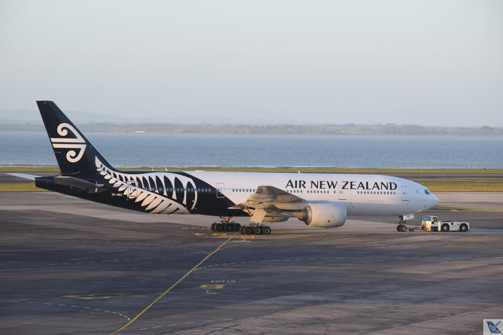 ANZ - B777 - Auckland