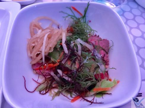 Almoço - ANZ - Business - AKL NRT Salada