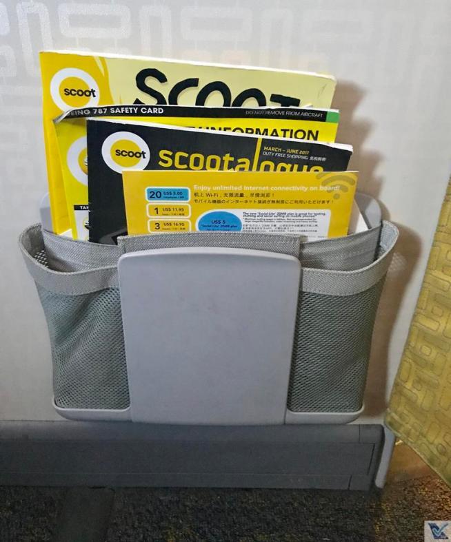 Bolsão - B787 - Scoot