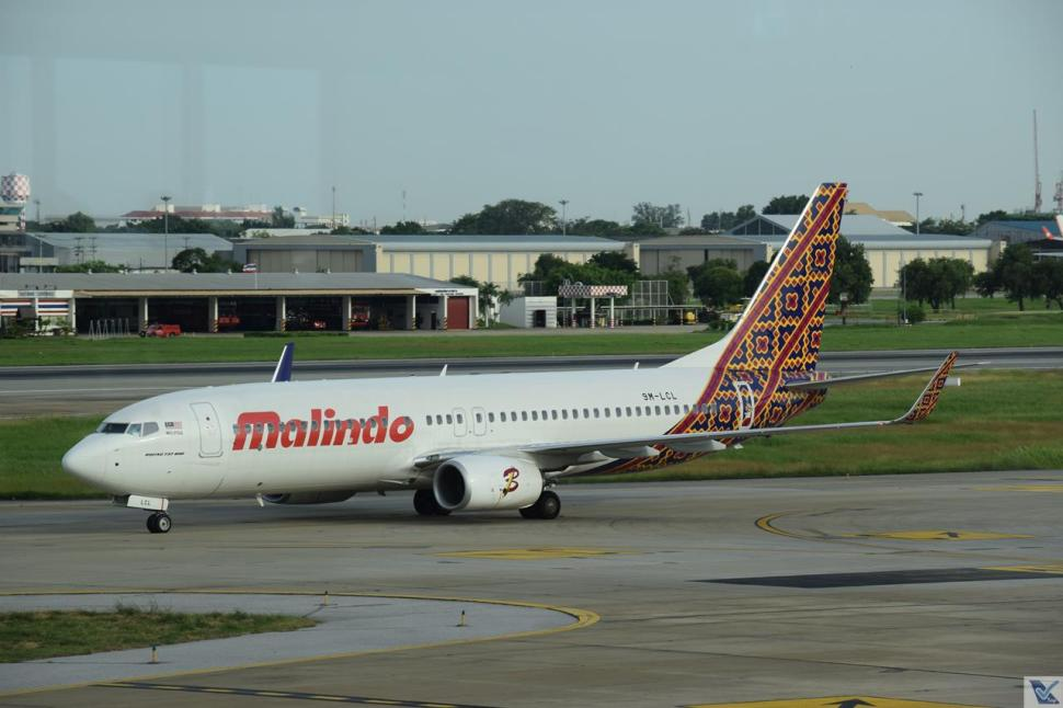 DMK - B737 - Malindo 1