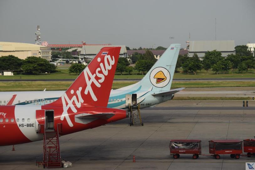 DMK - Caudas - Air Asia e Nok Air