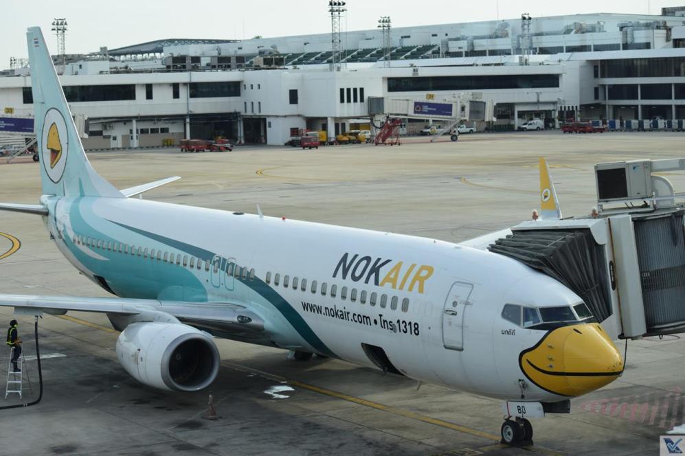DMK - Nok Air Branco Verde 3