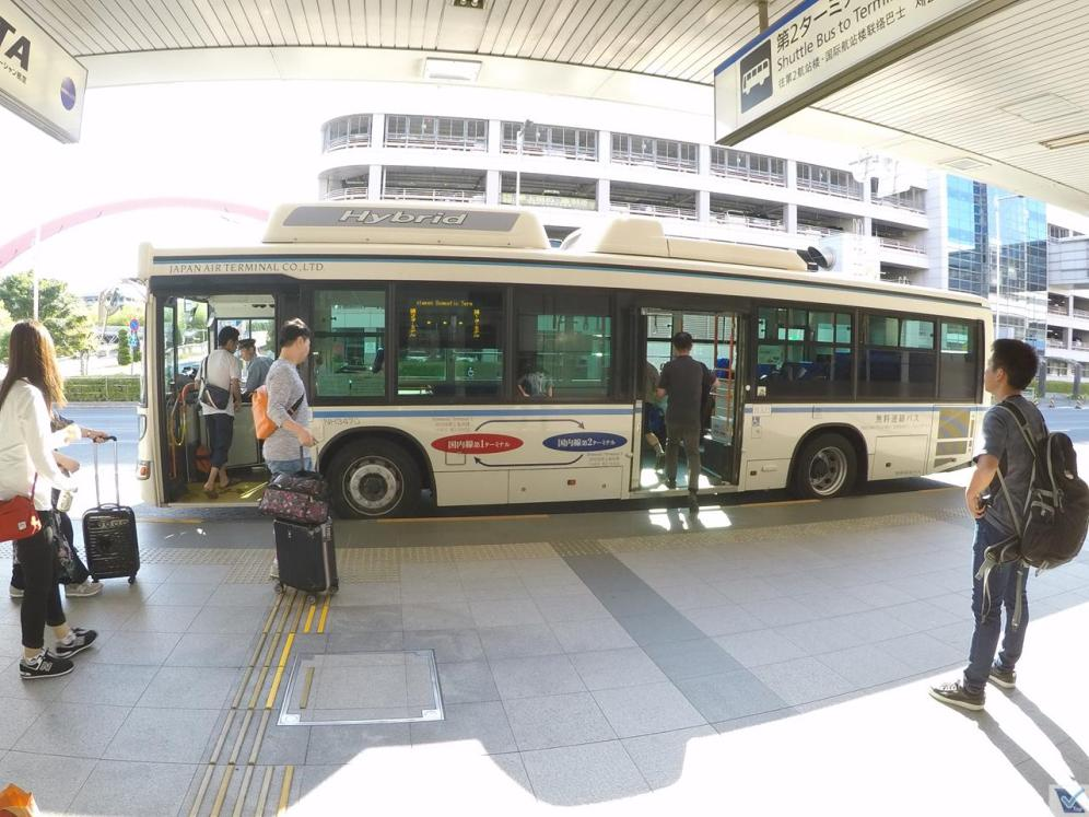Haneda - ônibus circular terminais 2